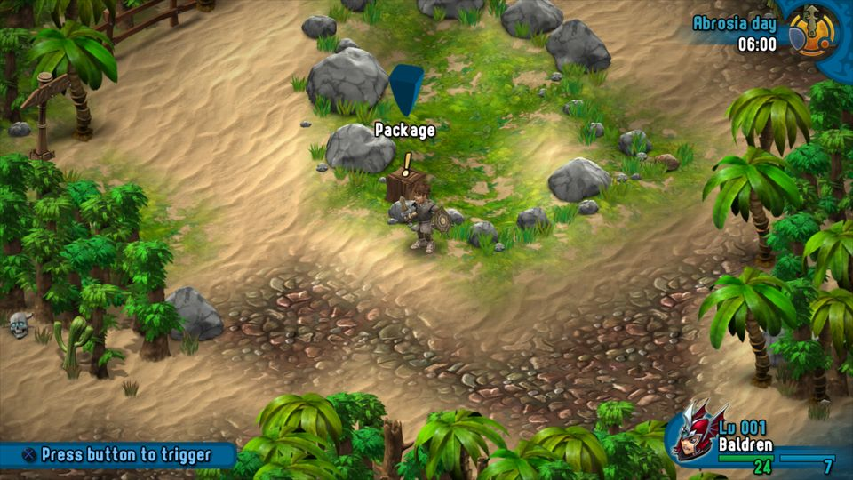4. Arilla: Barren Jungle - There is a camp with Savant in southern part of Barren Jungle. Just to north of the Savant is next package.