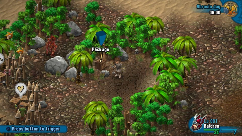 5. Arilla: Barren Jungle - South-West from location of 4; it's just East of the Healer and Smith.